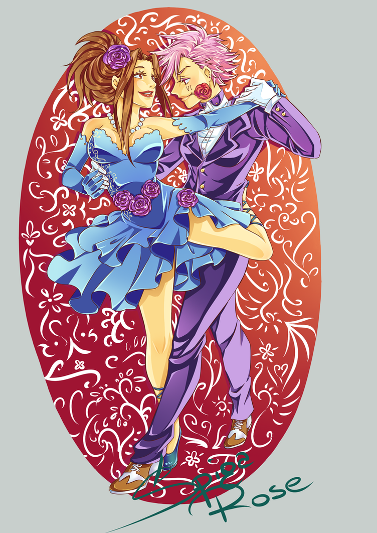 Tango Cait and Vi by SpigaRose
