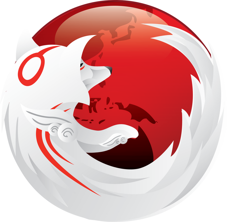 Cool Firefox Icon Okami Firefox Icon by