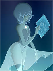 Portrait: Blue Pearl by LeeVC