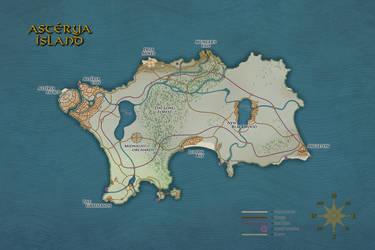 Island of Asterya by LeeVC