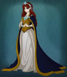 Queen Alexandria of Asterya by LeeVC