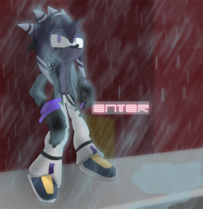 I Don't Mind the Rain by SaffuranLoL