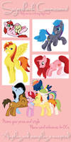 Sugarshock's Commission Sheet by Sugarshockpony