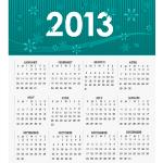 Vector 2013 Calendar 2 by cristina012