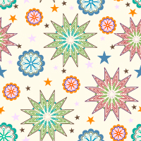 Vector Seamless Pattern 306 by cristina012