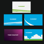 Business cards set 1 by cristina012