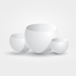Free Vector of the Day #161: Rounded Podiums by cristina012