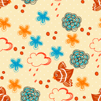 Vector Seamless Pattern 408 by cristina012