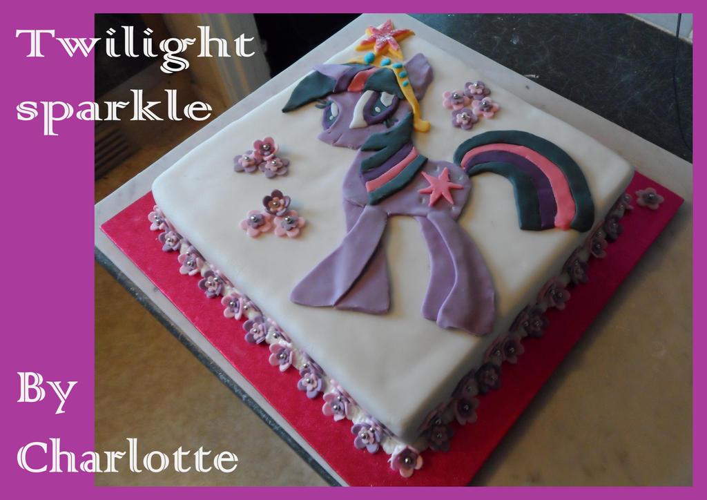 Twilight Sparkle Cake by LOTTIG on DeviantArt