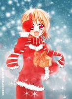 A snowflake on a finger by zaphiel-san