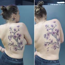 Backpiece tattoo by sHavYpus