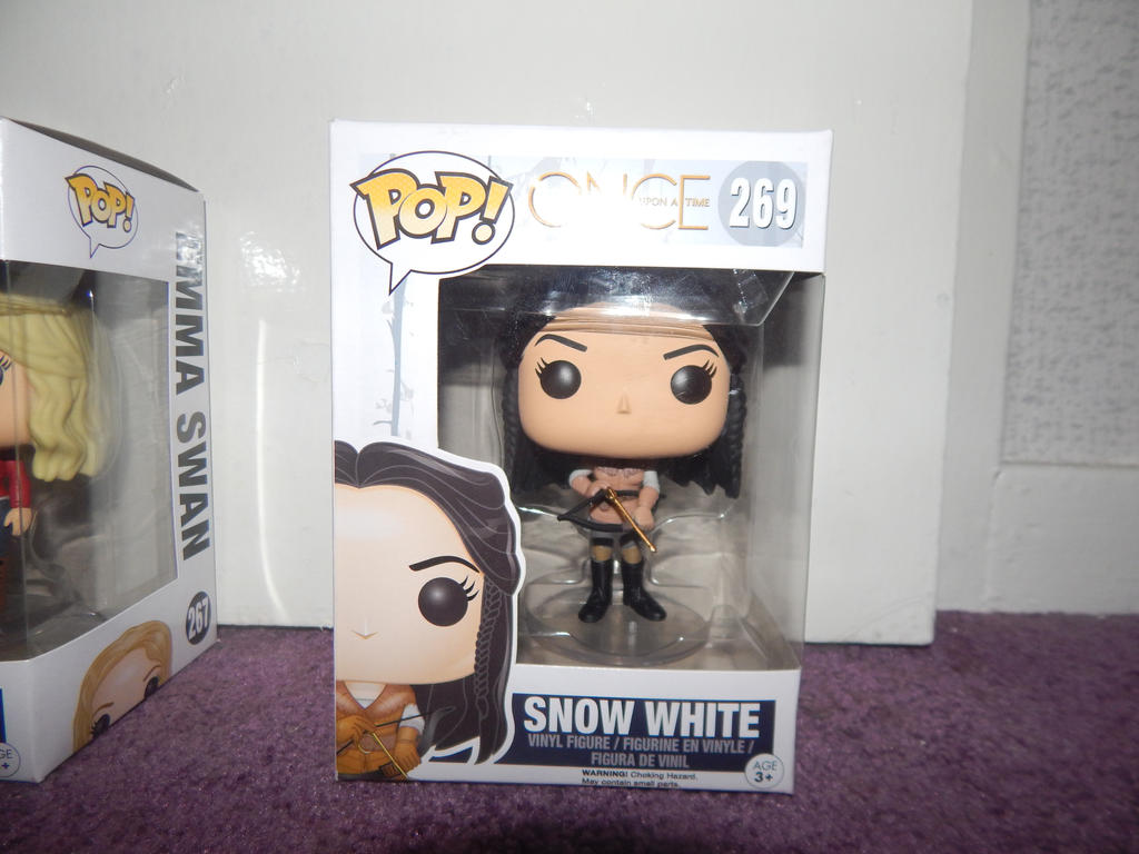 Once Upon A Time Snow White Funko Pop By Littlerolox3 On Deviantart