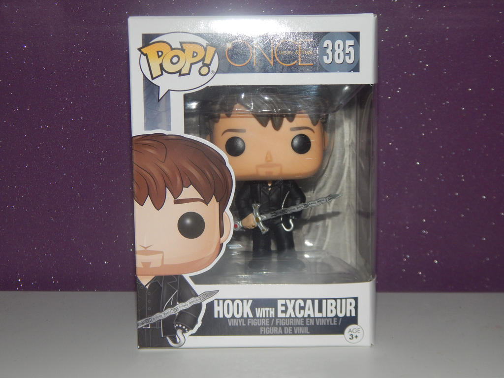 Once Upon A Time Hook With Excalibur Funko Pop By Littlerolox3 On