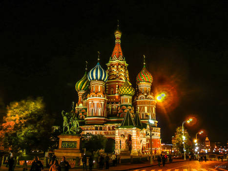 Beauty at night -  to all my Russian friends