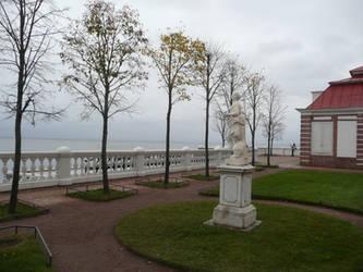Park in St Petersburg 1 by Rikitza