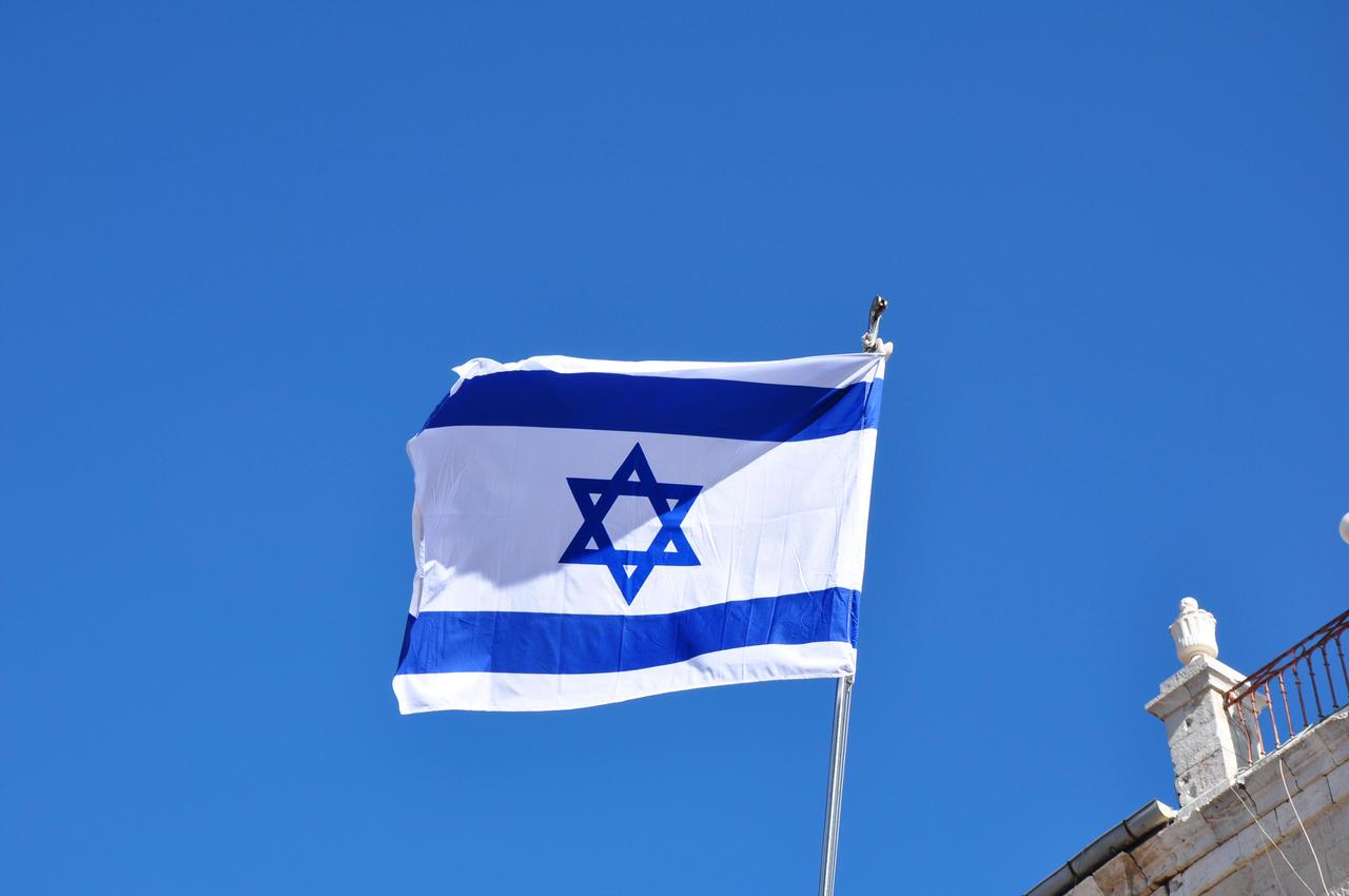 обои для рабочего стола флаг израиля № 389502 загрузить
