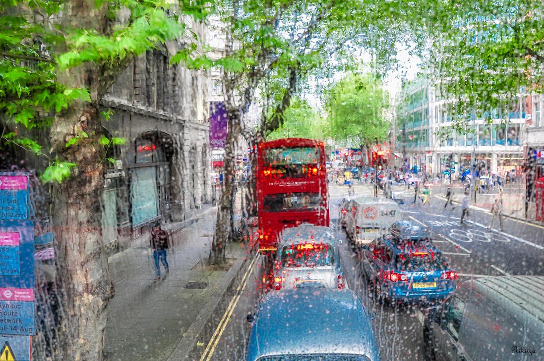 London rain - Impression for PATY - update by Rikitza