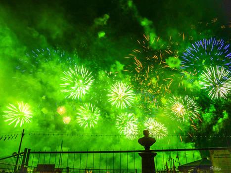 Fireworks at Geneva Birthday for Danielle - update