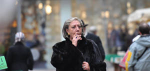 Smoking Madam