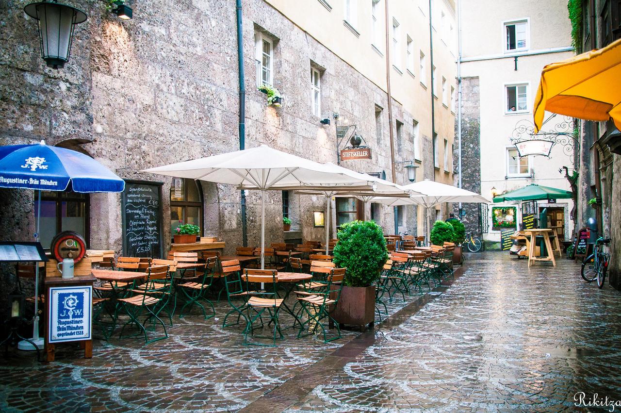 Rain in Innsbruck by Rikitza