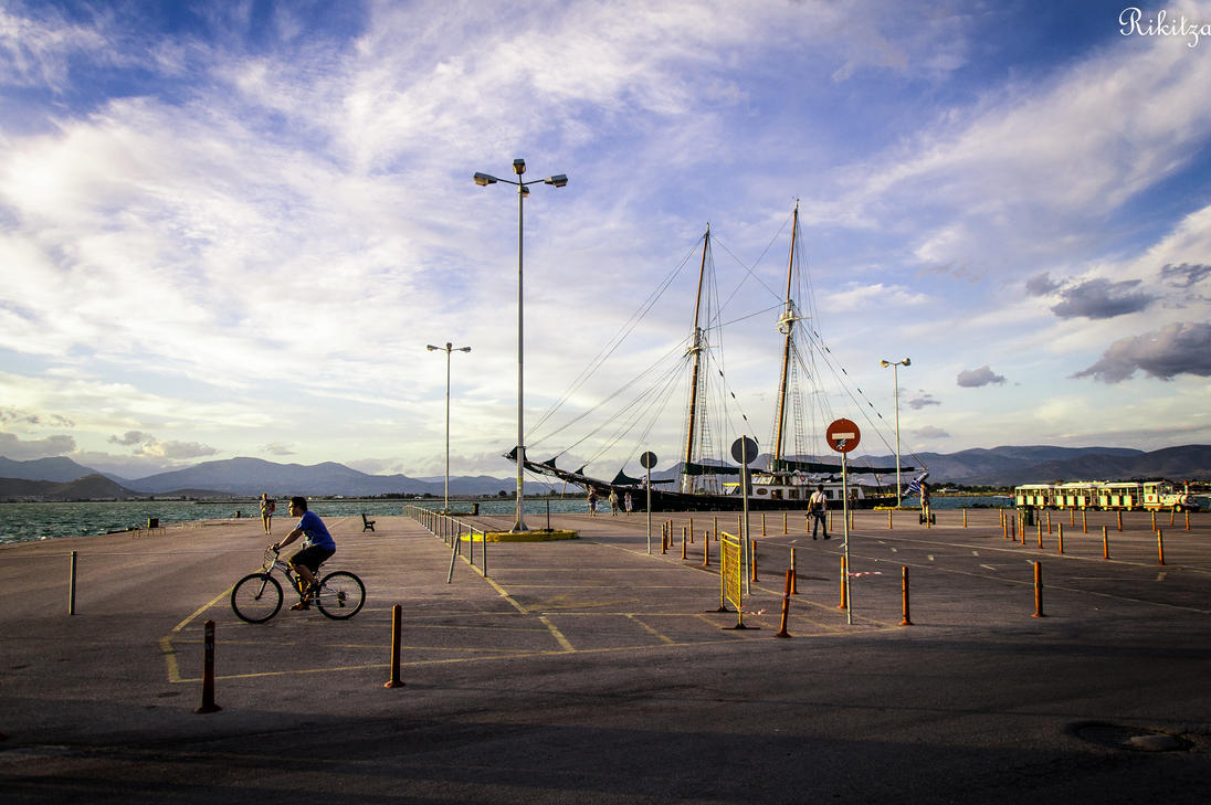 Late afternoon in Nafplio - Greece by Rikitza