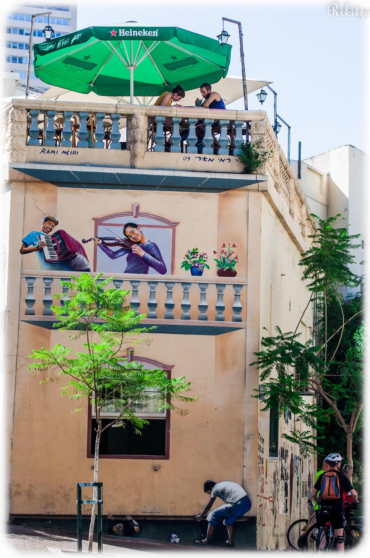 Stratification in Tel Aviv by Rikitza