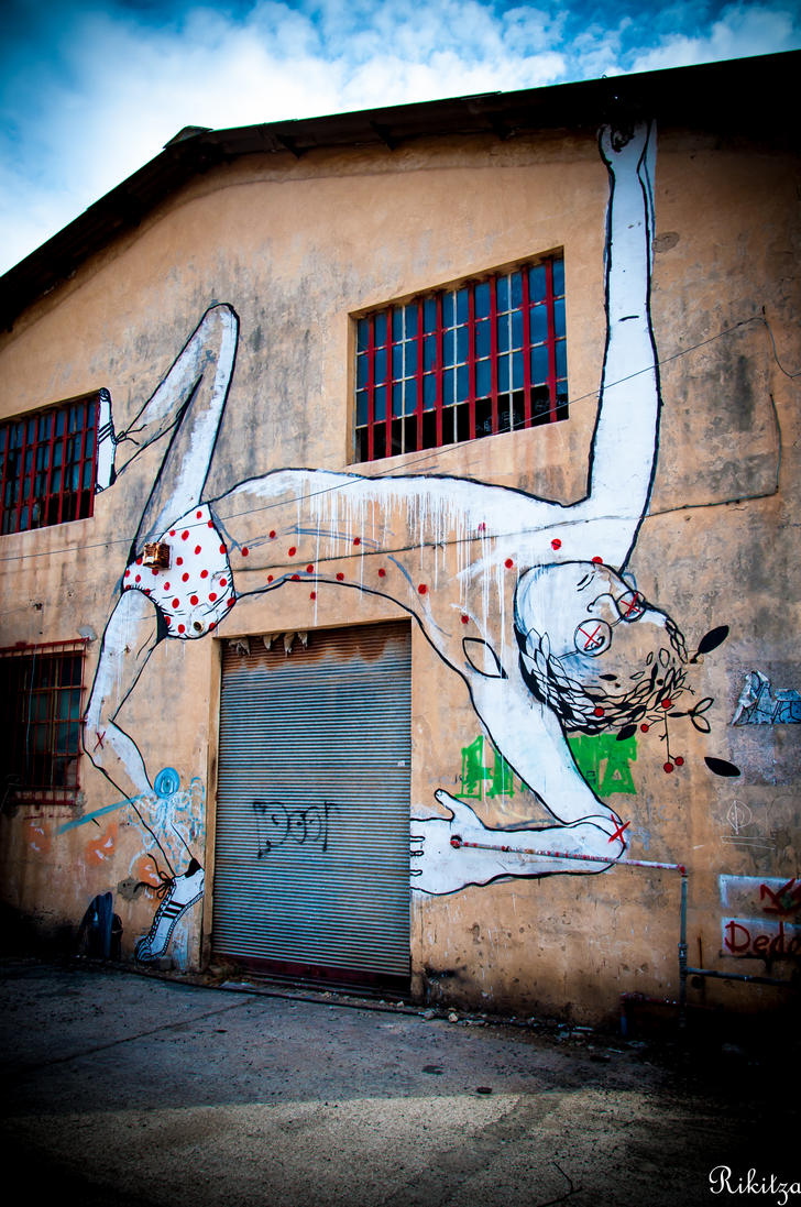 Tel Aviv - Yaffo graffiti by Rikitza