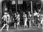Crossing the street - Tel Aviv instant by Rikitza