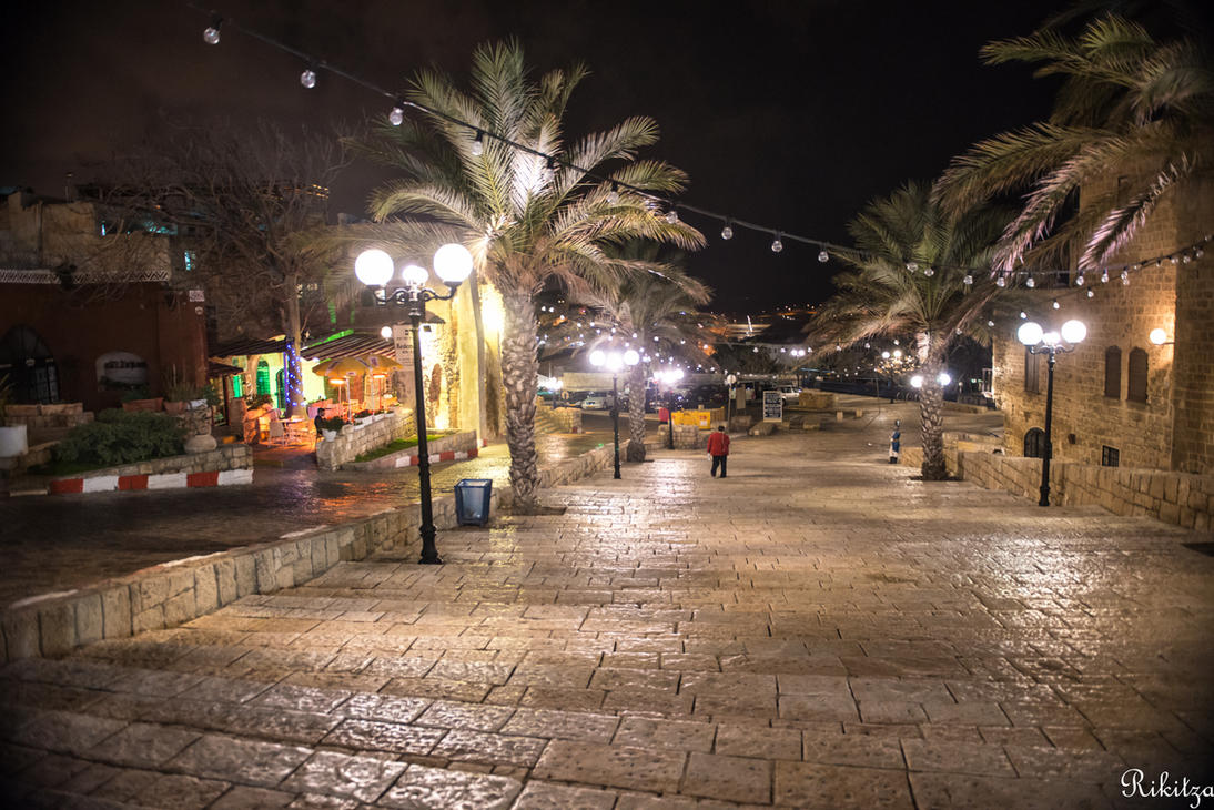 no other place like Jaffa during the nights by Rikitza