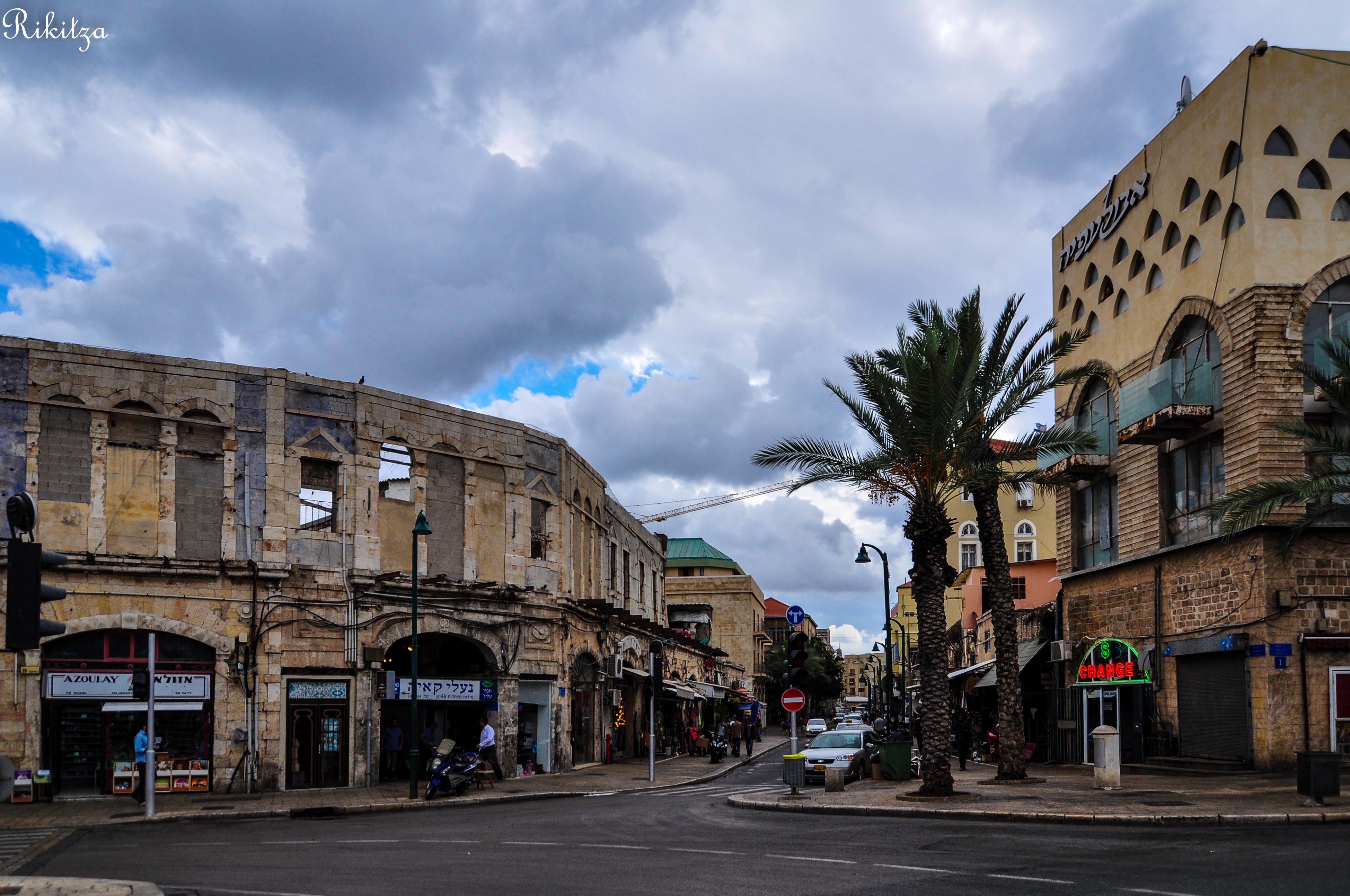 Jaffa sky by Rikitza