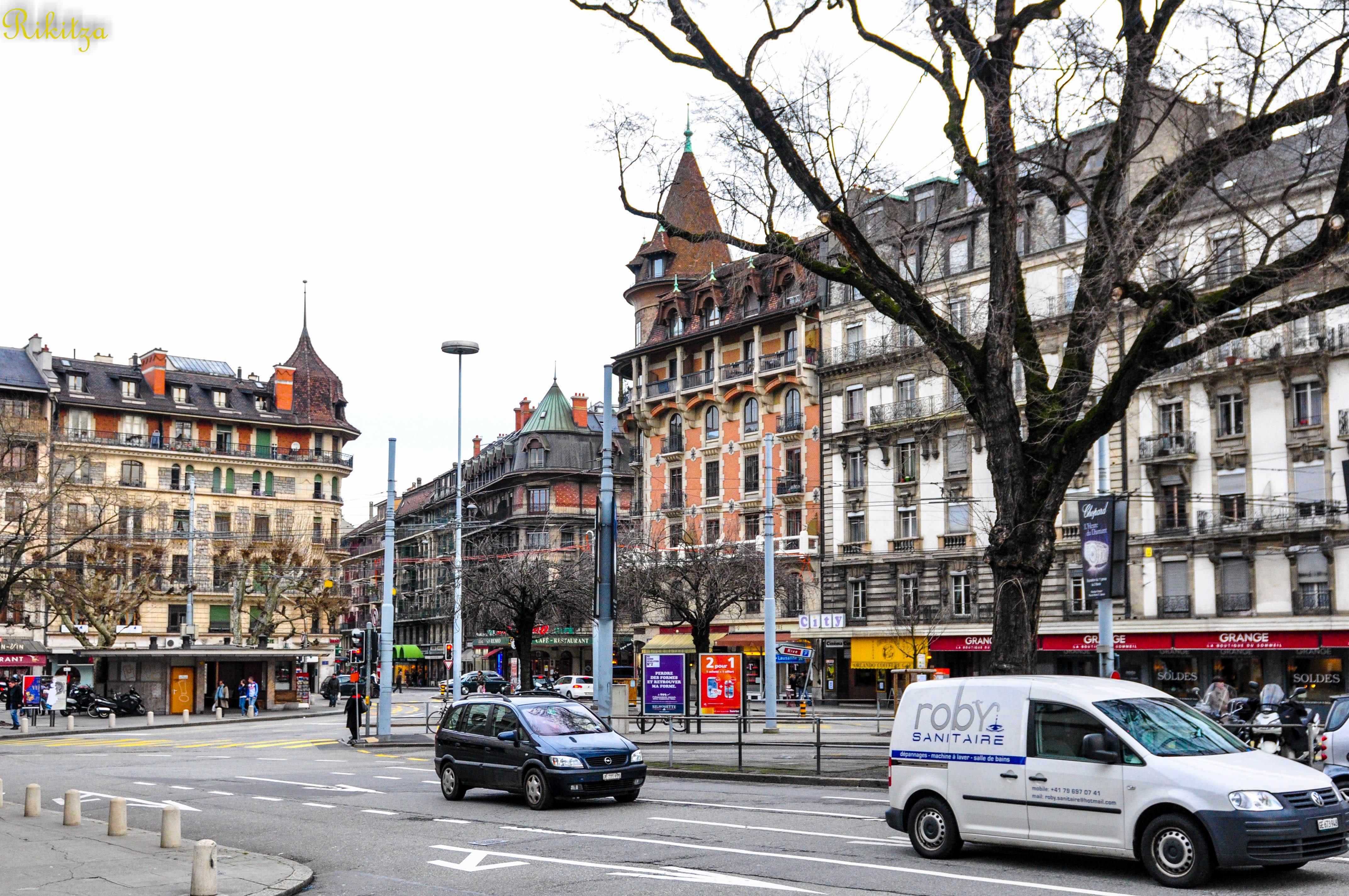 Geneva morning by Rikitza