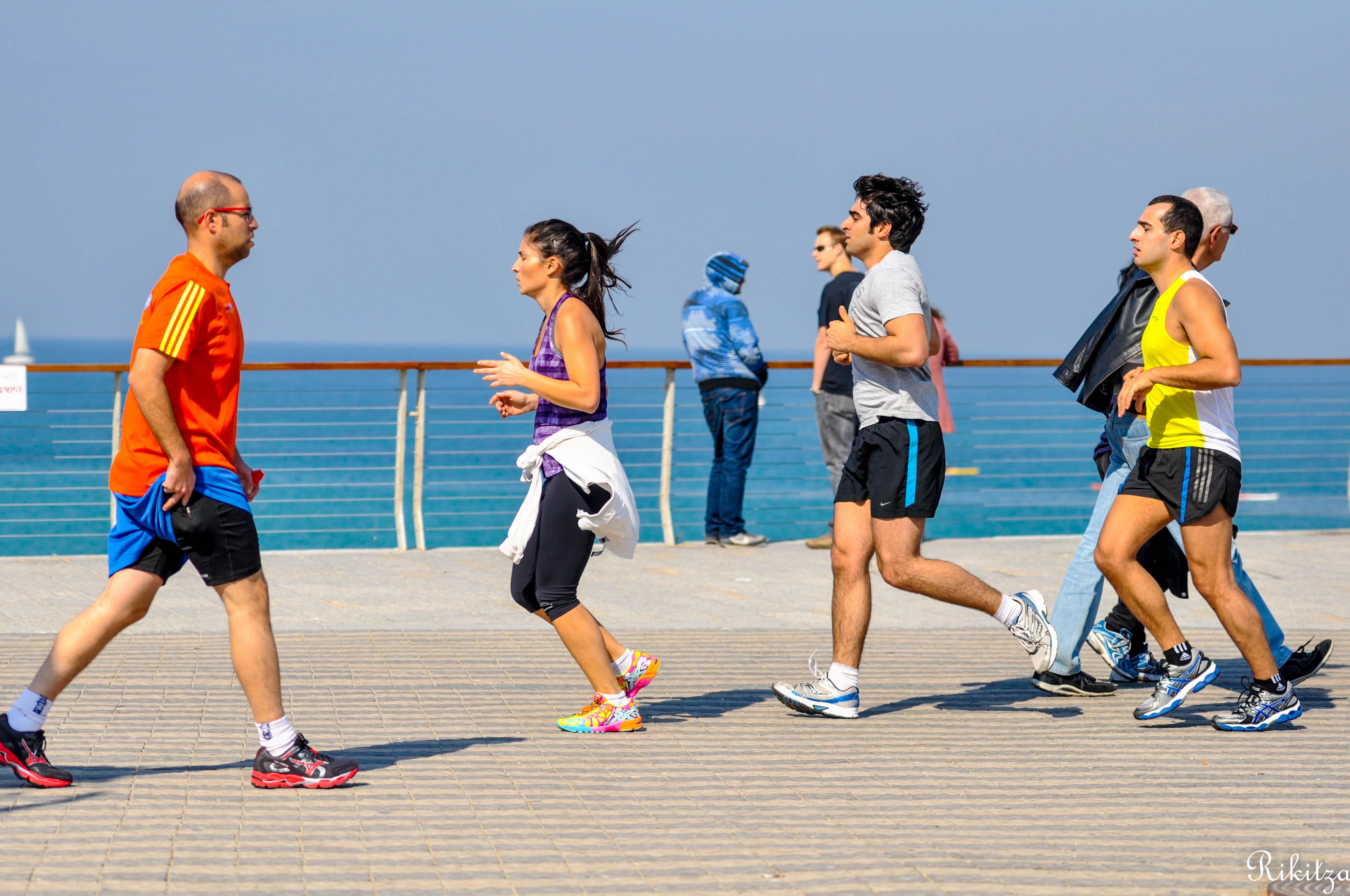 Friday Jogging - Yaffa by Rikitza