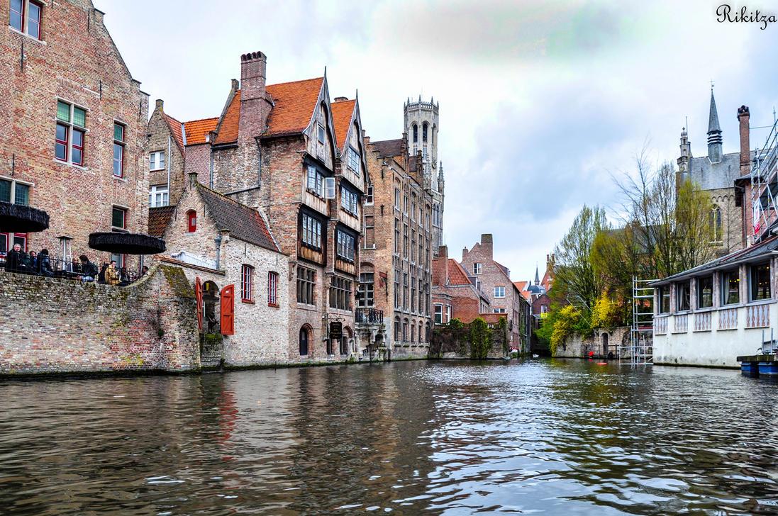 Bruges - Venice in Belgium by Rikitza