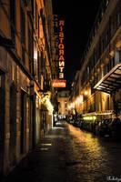 Nocturn Pizzeria in ROMA by Rikitza