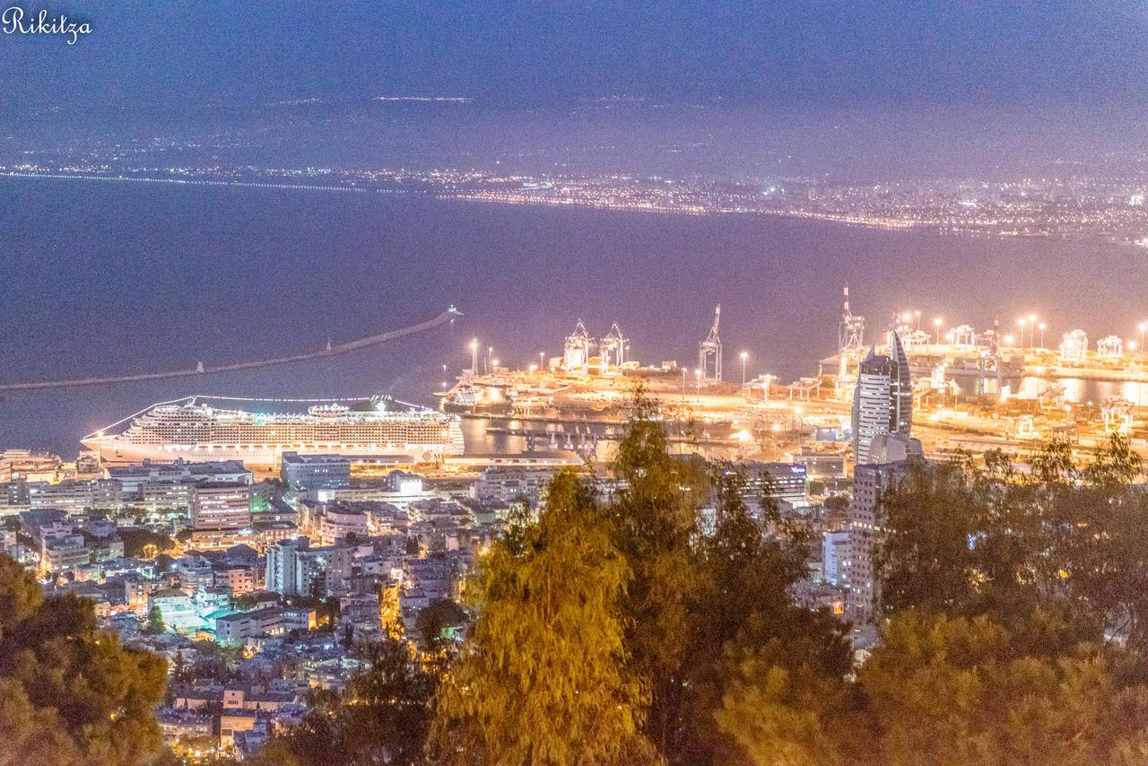 Haifa - view from the Carmel mount by Rikitza