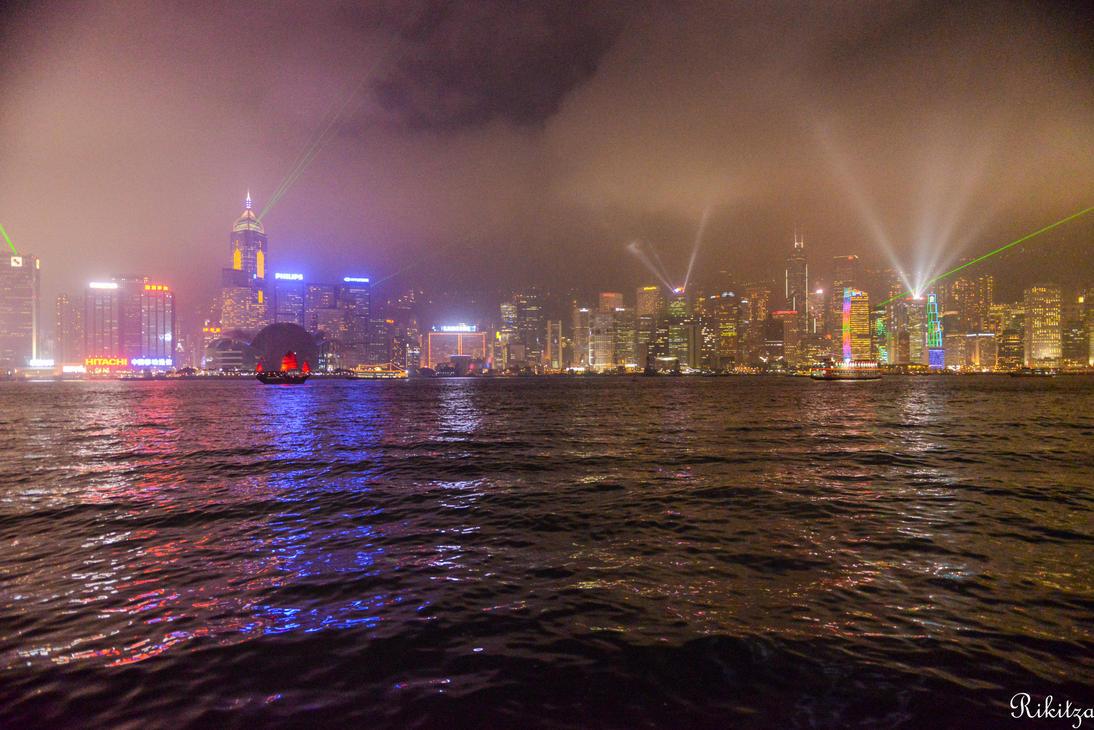 Foggy Laser by Rikitza