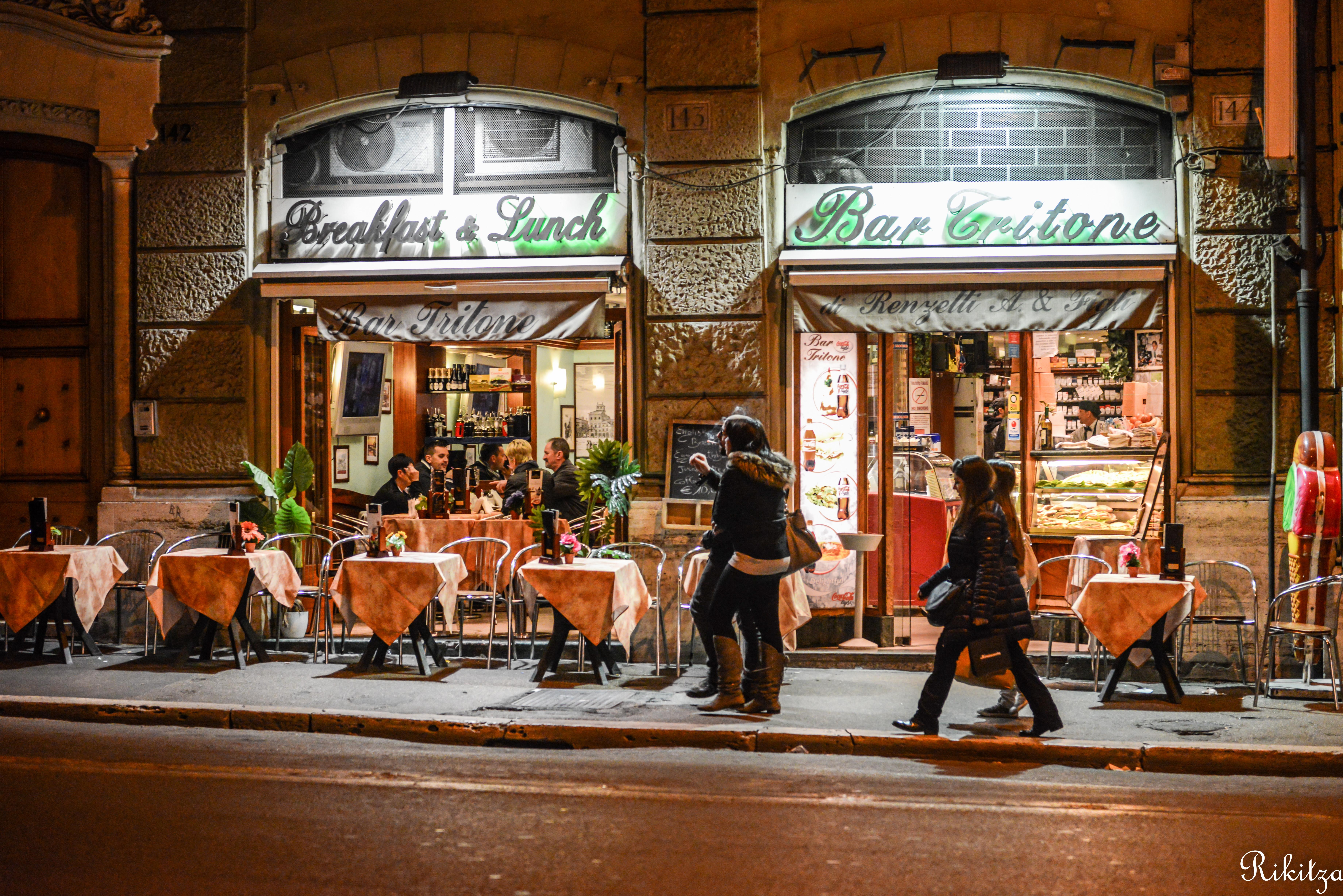 Bar Tritone  - Roma by Rikitza