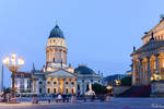 Evening in Gendarmenmarkt by Rikitza