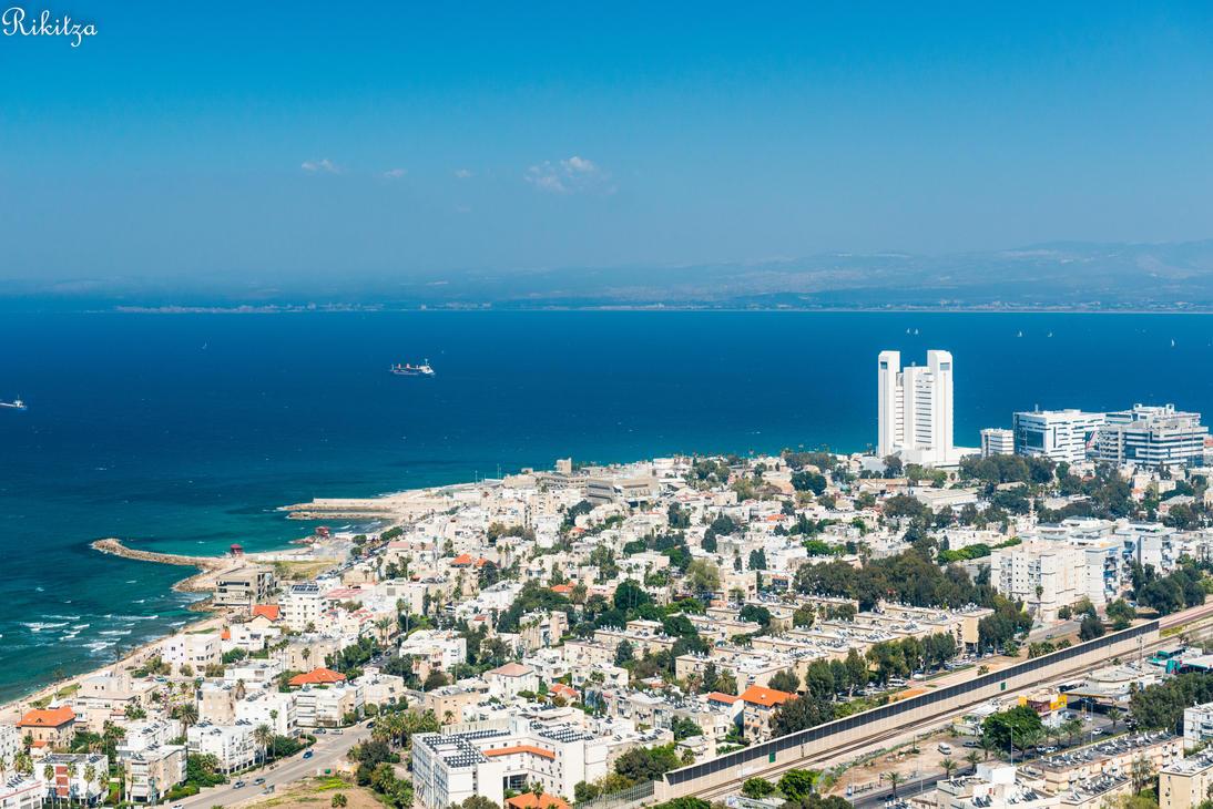 Haifa - aerial view by Rikitza