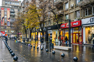 Wet Bucharest by Rikitza
