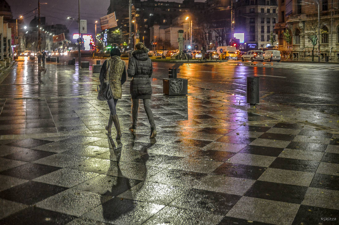 Walking on the Chess Table in Bucharest - revisit