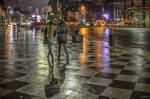 Walking on the Chess Table in Bucharest - revisit by Rikitza