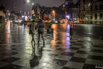 Walking On The Chess Table in Bucharest