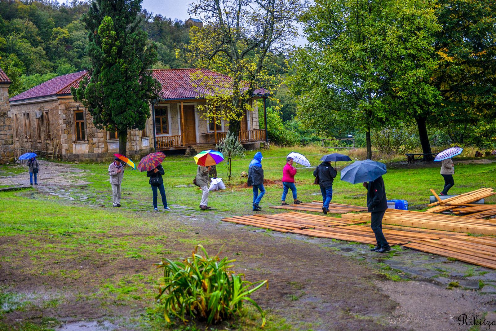 Georgia under rain by Rikitza