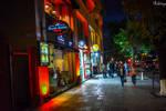 evening promenade Yerevan