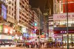 spotty night in HK