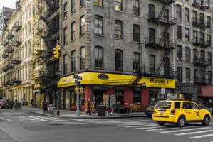 corner in NYC by Rikitza