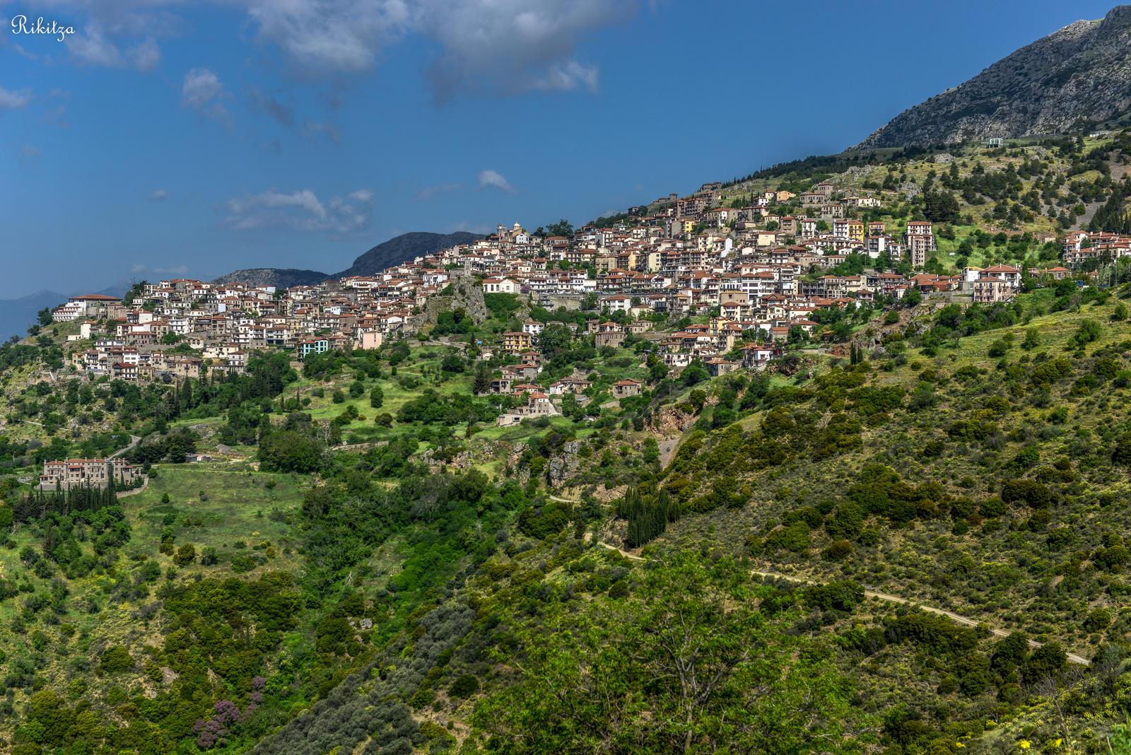 Delphi Greece  city photos : Arachova Delphi GREECE by Rikitza on DeviantArt