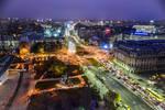 night over Bucharest