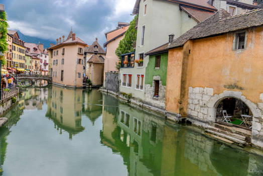 Reflections in Annecy - dedicated to Tomi Pajunen